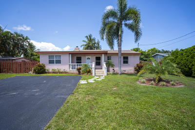 West Palm Beach Single Family Home For Sale: 3179 Melaleuca Road