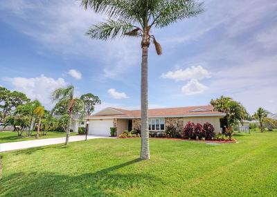 Port Saint Lucie, Saint Lucie West Single Family Home For Sale: 2526 SE Petit Lane