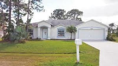 Port Saint Lucie, Saint Lucie West Single Family Home For Sale: 5886 NW Leghorn Avenue
