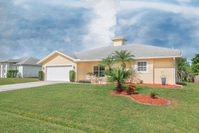 Port Saint Lucie, Saint Lucie West Single Family Home For Sale: 2150 SW Venus Street