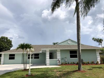 Port Saint Lucie, Saint Lucie West Single Family Home For Sale: 2599 SE Caladium Avenue