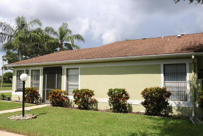 West Palm Beach Single Family Home For Sale: 4385 Willow Brook Circle