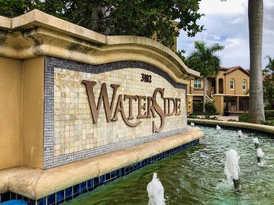 Boynton Beach Townhouse For Sale: 3148 Waterside Circle