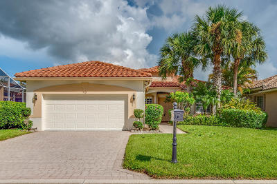Lake Worth Single Family Home For Sale: 9325 Vercelli Street