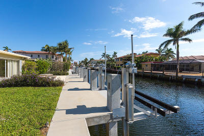 Boca Raton FL Single Family Home For Sale: $850,000