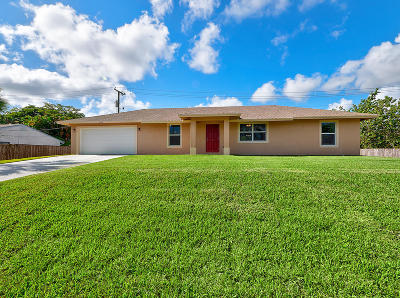 Lake Worth Single Family Home For Sale: 9160 Bracelet Drive