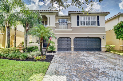 Boynton Beach Single Family Home For Sale: 9832 Cobblestone Lakes Court