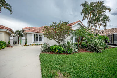Palm Beach Gardens Single Family Home For Sale: 210 Eagleton Lake Boulevard