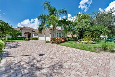 West Palm Beach Single Family Home For Sale: 7837 Preserve Drive