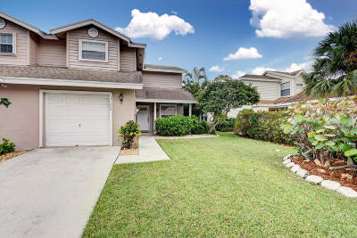 Wellington Single Family Home For Sale: 13128 Quiet Woods Road #b