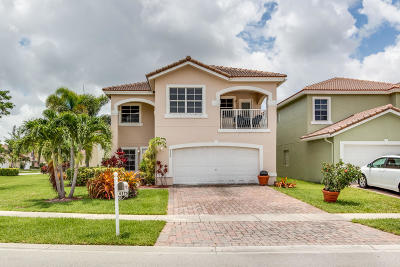 Greenacres Single Family Home For Sale: 6175 Adriatic Way
