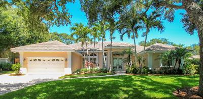 Martin County Single Family Home For Sale: 12 Palm Road