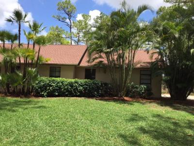 Loxahatchee Single Family Home For Sale: 2495 Doe Trail