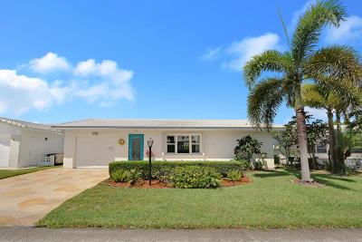 Boynton Beach FL Single Family Home For Sale: $250,000