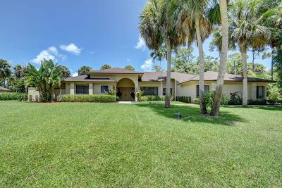 West Palm Beach Single Family Home For Sale: 8659 Thousand Pines Circle