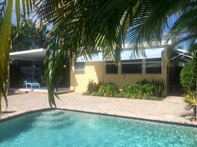 Lake Worth Single Family Home For Sale: 430 O Street