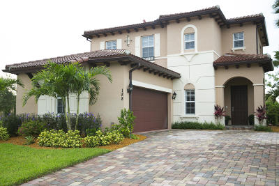 Jupiter Single Family Home For Sale: 188 Behring Way