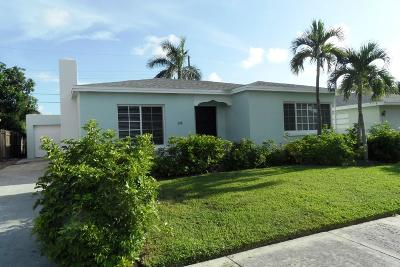 Lake Worth Single Family Home For Sale: 228 Wellesley Drive