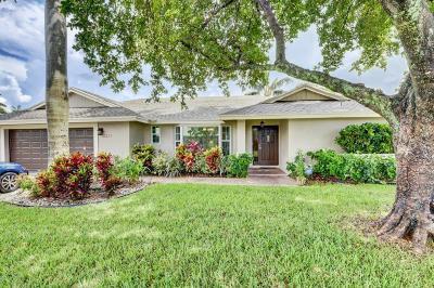 Boynton Beach FL Single Family Home For Sale: $435,000