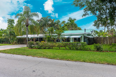 West Palm Beach Single Family Home For Sale: 1205 Whitney Street