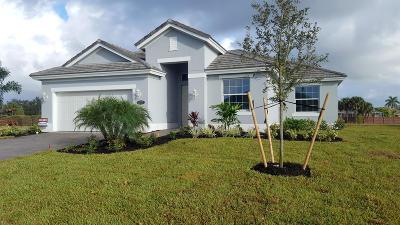 Vero Beach Single Family Home For Sale: 4757 Four Lakes Circle SW