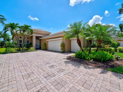 Palm Beach Gardens Single Family Home For Sale: 141 Orchid Cay Drive