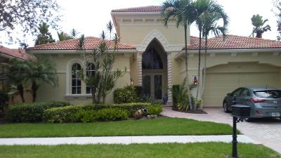 West Palm Beach Single Family Home For Sale: 7211 Tradition Cove Lane W