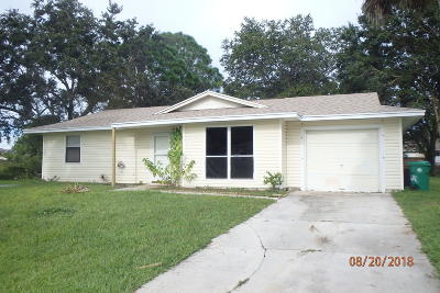Port Saint Lucie FL Single Family Home Sold: $142,000