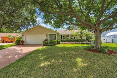 Palm Beach Gardens Single Family Home For Sale: 11952 Catalpha Avenue