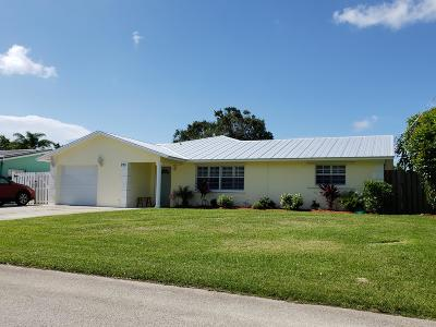 Palm City Single Family Home For Sale: 935 SW 29th Terrace