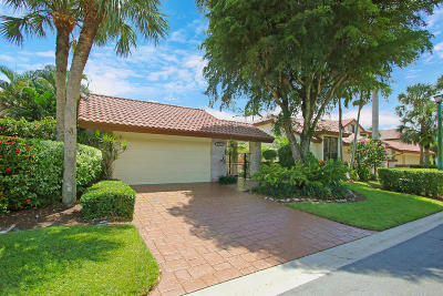 Boca Raton Single Family Home For Sale: 21564 Town Place Place