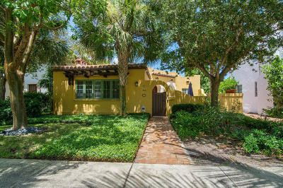 West Palm Beach Single Family Home For Sale: 743 Biscayne Drive