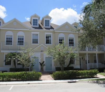 Jupiter Townhouse For Sale: 118 Seagrape Drive #105