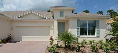 Vero Beach Single Family Home For Sale: 1965 Chestnut Place