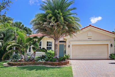 Palm Beach Gardens Single Family Home For Sale: 12312 Aviles Circle