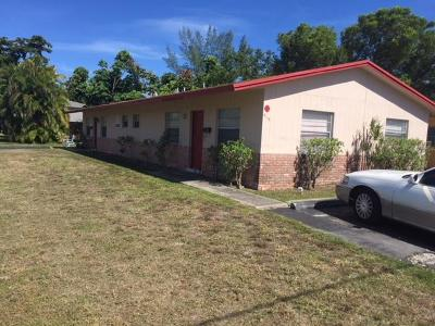 Pompano Beach Multi Family Home For Sale: 916 NE 12 Avenue