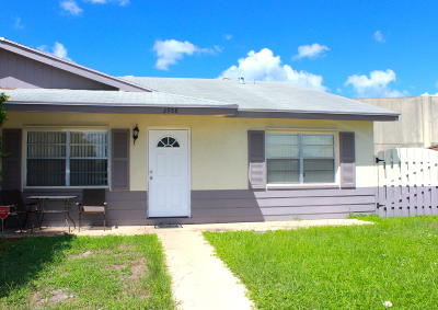 Palm Beach Gardens Single Family Home For Sale: 3958 Harwood Street