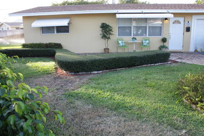 Boca Raton Single Family Home For Sale: 1031 NE 3rd Avenue