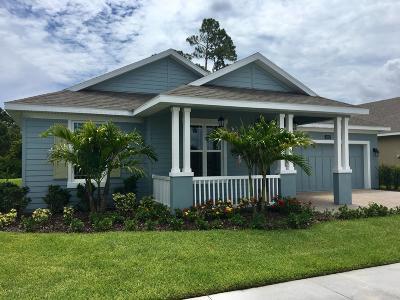 Vero Beach Single Family Home For Sale: 3502 Diamond Leaf Drive