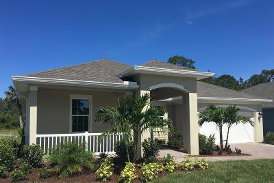Vero Beach Single Family Home For Sale: 3574 Diamond Leaf Drive