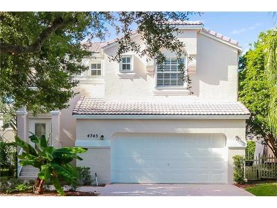 Coral Springs Rental For Rent: 4745 NW 114th Drive