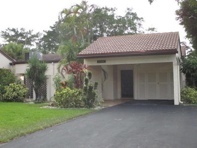 Boca Raton Single Family Home Contingent: 21896 Cypress Circle #35-B