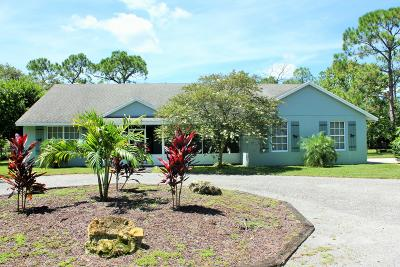 Jupiter Single Family Home For Sale: 11667 165th Road