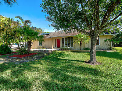 Jupiter Single Family Home For Sale: 12837 164th Court