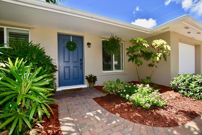 Jupiter Single Family Home For Sale: 100 Windsor Road W