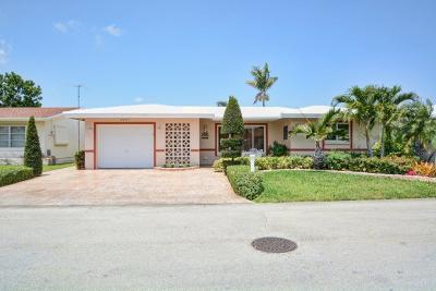 Tamarac Single Family Home For Sale: 4611 NW 44th Street