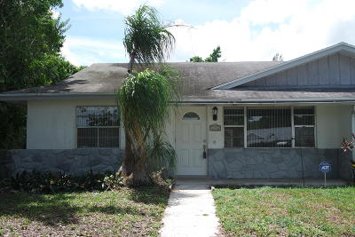 Palm Beach Gardens Single Family Home For Sale: 4856 Brady Lane