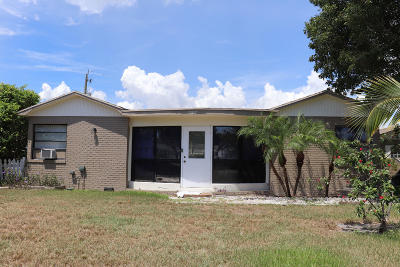 Boynton Beach Single Family Home For Sale: 1007 SE 3rd Street