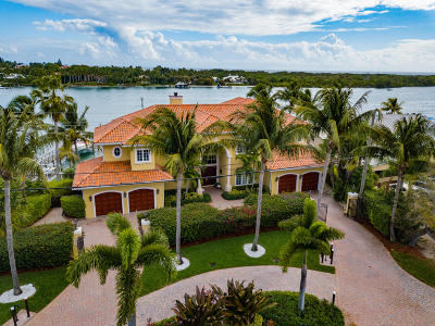Tequesta Single Family Home For Sale: 17911 SE Federal Highway