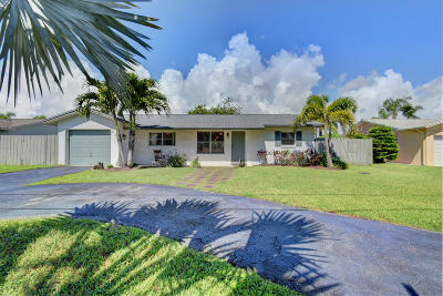 Delray Beach Single Family Home For Sale: 638 Eagle Drive